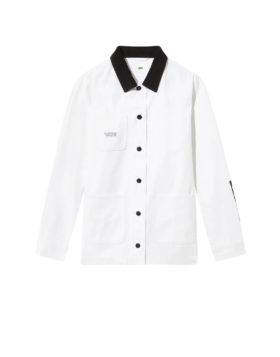VANS – Make Me Your Own Drill Chore Coat (White)