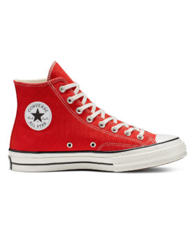 CONVERSE – Chuck 70 Vintage Canvas High Top (Enamel Red/Egret/Black)
