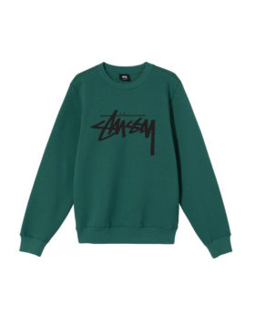 Stüssy – Stock Crew (Dark Green)