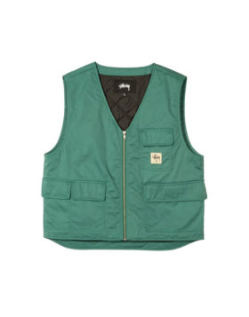 Stüssy – Insulated Work Vest (Teal)