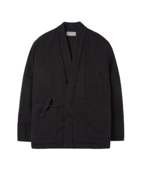 Universal Works – Quilt Insulated Kyoto Work Jacket (Black)