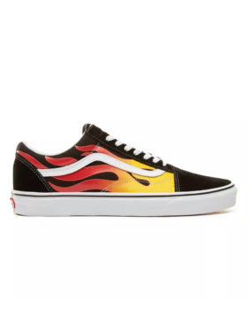 VANS – Old Skool Flame (Black/True White)