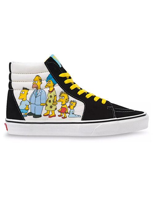 VANS - The Simpsons x Vans 1987-2020 Sk8-Hi
