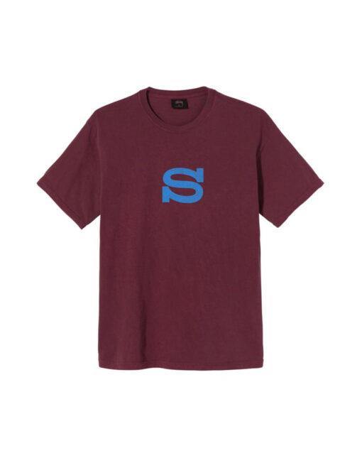 maglietta rossa stussy s