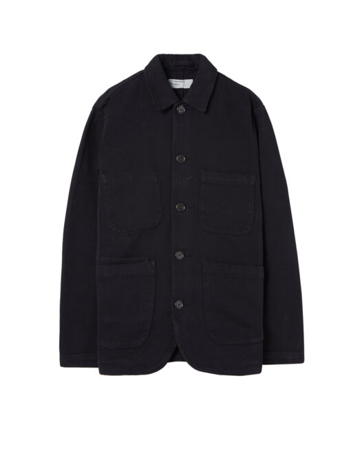 Universal Works - Quilt Insulated Overcoat (Black)