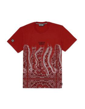 OCTOPUS – Bandana Tee (Red)
