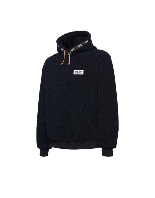 313 - Fleece Hoodie (Black)