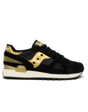 SAUCONY – Shadow Original Woman (Black/Gold)