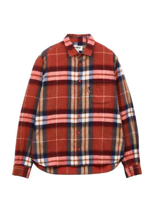 camicia flanella rossa you must create