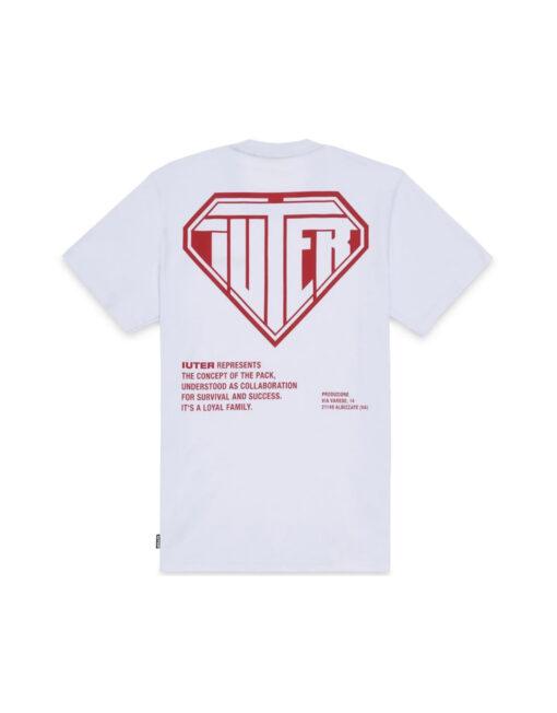 maglietta iuter logo rosso