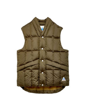 YOU MUST CREATE – Cape Heights North Downs Poly Ripstop Gilet (Olive)