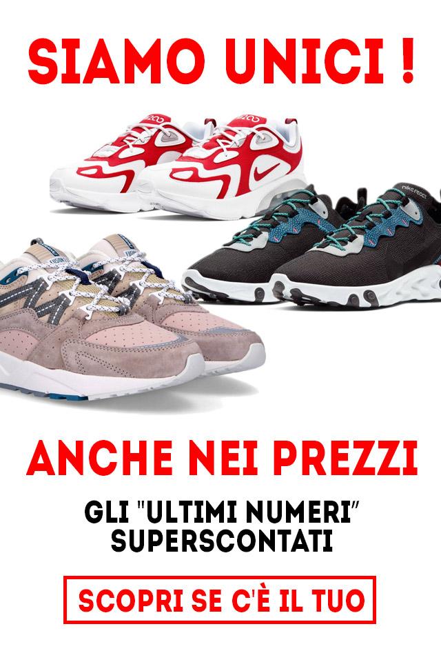 ultimi numeri scarpe offerta