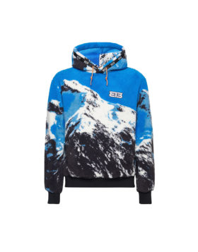 313 – Fleece Hoodie Mountain