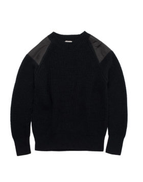 YOU MUST CREATE – Walmer Crew Neck (Black)