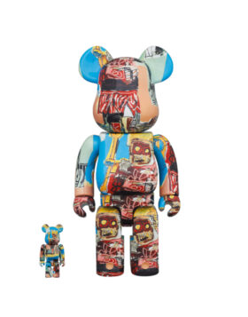MEDICOM TOY – Be@rbrick Jean Michel Basquiat 100% & 400%