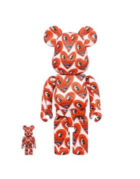 Medicom Toy – Be@rbrick Keith Haring 400% & 100%