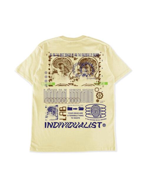 maglietta crema individualist