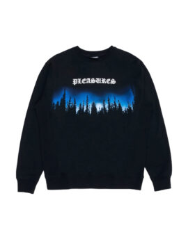 PLEASURES – Forest Premium Crewneck Sweater