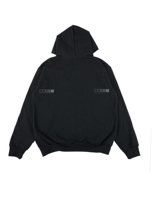 hoodie nera individualist