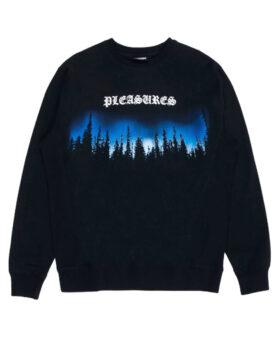 PLEASURES – Forest Premium Crewneck Sweater