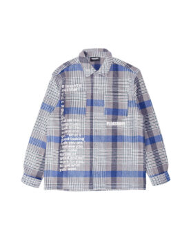 PLEASURES – Forces Plaid Overshirt