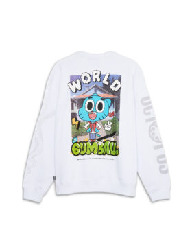 GUMBALL WORLD CREWNECK