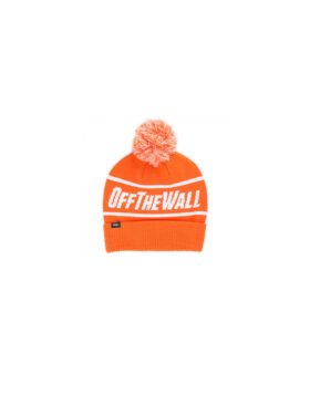 VANS – Off The Wall orange pompom