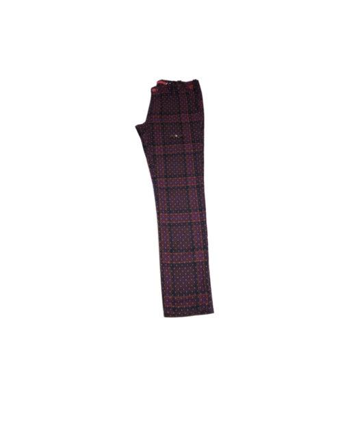 SUPERPANTS - pant in lana stampata