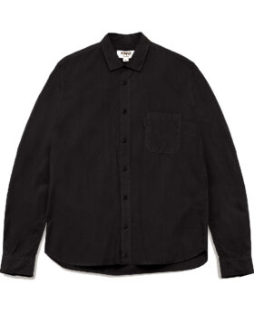 YOU MUST CREATE – CURTIS ORGANIC COTTON SHIRT BLACK