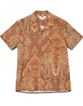 YOU MUST CREATE – MALICK DOBBY NET COTTON PAISLEY PRINT SHIRT MULTI