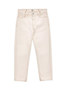 YOU MUST CREATE – TEARAWAY COTTON CANVAS JEANS ECRU