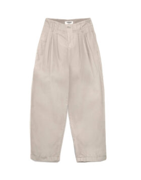 KEATON COTTON NYLON TROUSERS STONE