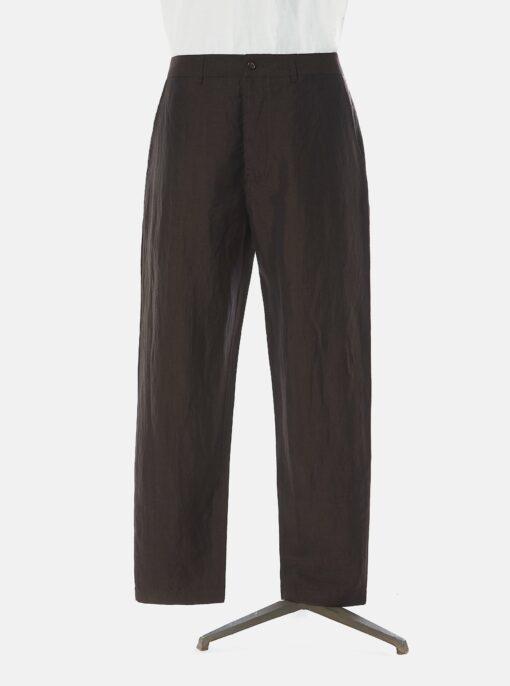 pantalone universal works brown