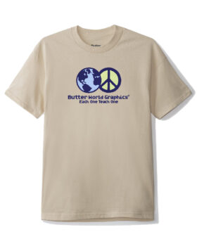 BUTTER GOODS – WORLD PEACE TEE