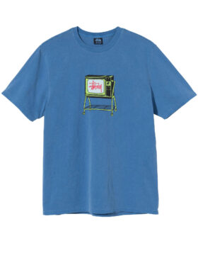 Stüssy – ROLLING TV PIGMENT DYED TEE