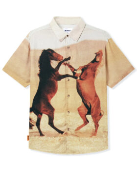 BUTTER GOODS – HORSES S/S SHIRT