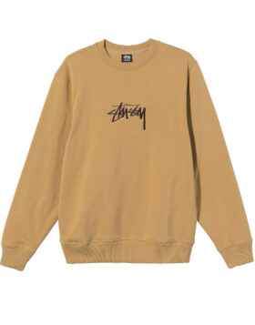 Stüssy – STOCK EMBROIDERED CREW