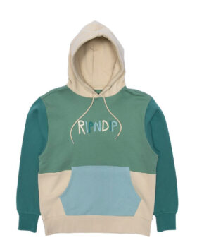 RIPNDIP – Color Block Rubber Logo Hoodie