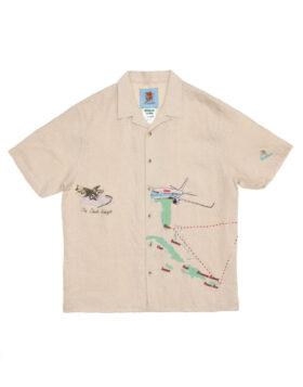 JUNGLES JUNGLES – Safe Trip Linen Shirt