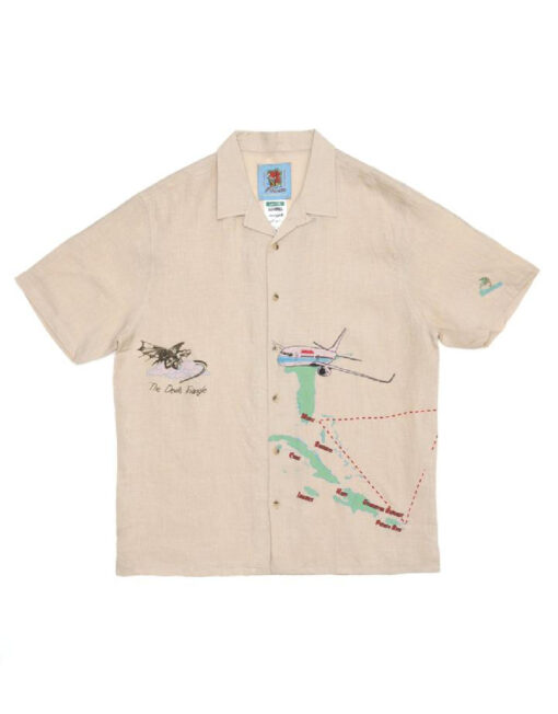 JUNGLES JUNGLES - Safe Trip Linen Shirt