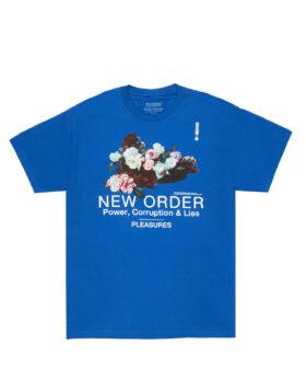 PLEASURES – x New Order Power T-Shirt