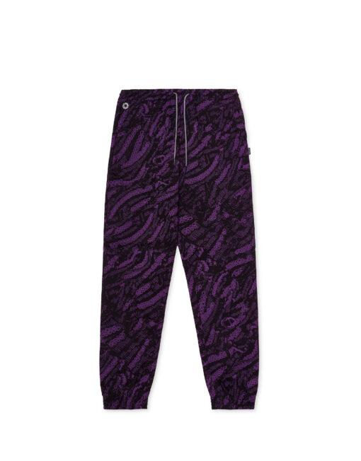 black purple octopus sweatpant