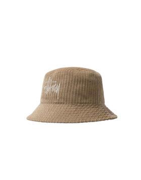 STÜSSY – CORDUROY BIG BASIC BUCKET HAT