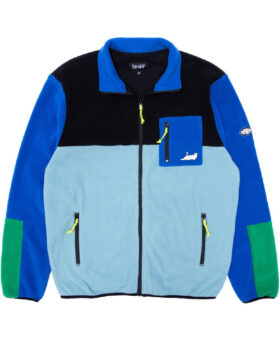RIPNDIP – Alameda Color Block Polar Fleece Jacket
