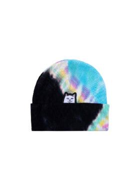 RIPNDIP – Lord Nermal Beanie Rainbow Tie Dye