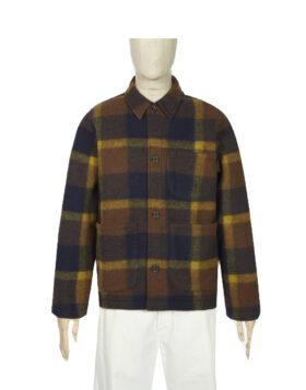 Universal Works – Field Jacket Large Plaid Fleece