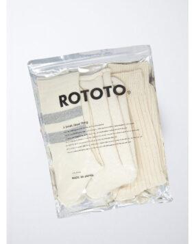 RoToTo – Organic Cotton Special Trio Socks