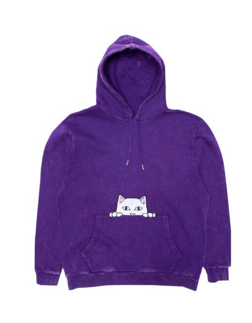 purple hoodie ripndip